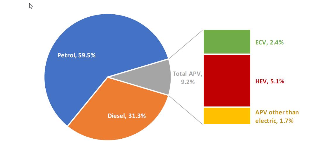 ACEA fuel type chart